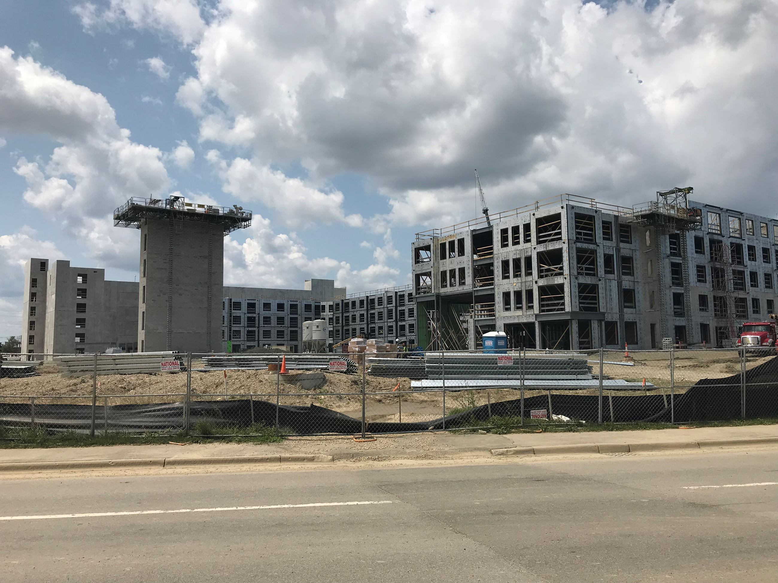 Uptown 500 Under Construction - July 2019