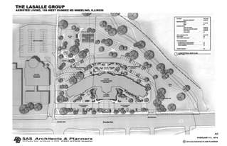 LaSalle Group Assisted Living Conceptual Site Plan