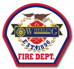 Wheeling Est. 1896 Fire Department Patch