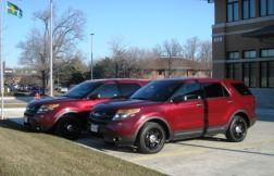 Chief Deputy and Chief Fire Department SUVs