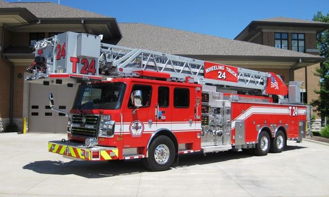 Engines & Ladder Tower | Wheeling, IL